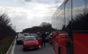 sudar-ibarska-policija-saobraćaj-gužva2